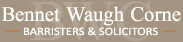 Bennet Waugh Corne Lawyers – Family Law – Winnipeg – Manitoba